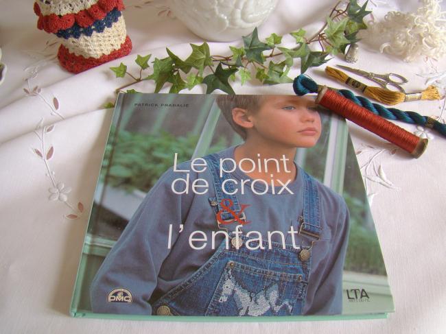 Livre 'Le point de croix et l'enfant', Patrick Pradalié, éditions LTA
