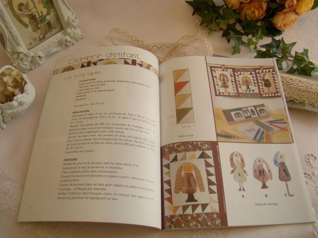 Livre 'Patchwork miniature' de Cécile Franconie par LTA